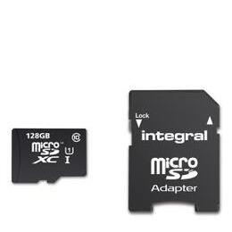 Integral 128GB Smartphone/Tablet Class 10 MicroSDHC Memory Card Reviews