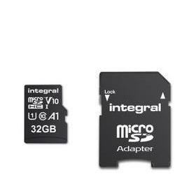 Integral 32GB High Speed V10 UHS-I U1 MicroSDHC Memory Card Reviews