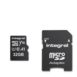 Integral 32GB High Speed V10 UHS-I U1 MicroSDHC Memory Card Reviews