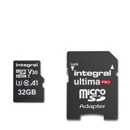Integral 32GB High Speed V30 UHS-I U3 MicroSDHC Memory Card Reviews