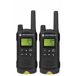 Motorola XT180 2-Way PMR446 Walkie Talkie Radio - Black & Yellow