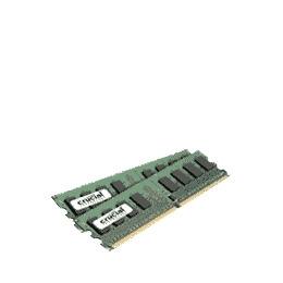 Crucial - Memory - 4 GB ( 2 x 2 GB ) - DIMM 240-pin - DDR II - 667 MHz / PC2-5300 - CL5 - 1.8 V - unbuffered - non-ECC Reviews