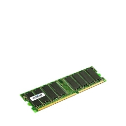Crucial - Memory - 1 GB - DIMM 184-PIN - DDR - 333 MHz / PC2700 - CL2.5 - 2.5 V - registered - ECC Reviews