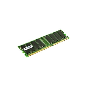 Photo of Crucial - Memory - 1 GB - DIMM 184-PIN - DDR - 333 MHZ / PC2700 - CL2.5 - 2.5 V - Registered - ECC Computer Component