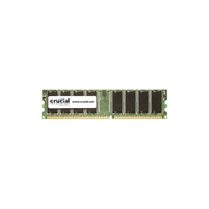 Photo of Crucial - Memory - 1 GB - DIMM 184-PIN - DDR - 400 MHZ / PC3200 - CL3 - 2.6 V - Unbuffered - Non-ECC Computer Component
