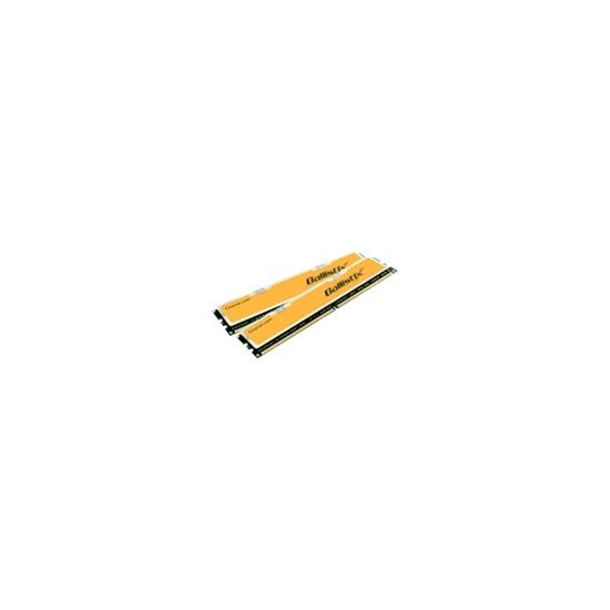 Crucial Ballistix - Memory - 2 GB ( 2 x 1 GB ) - DIMM 240-pin - DDR II - 1066 MHz / PC2-8500 - CL5 - 2.2 V - unbuffered - non-ECC