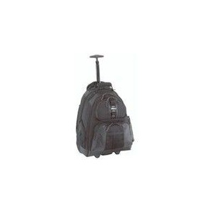 Photo of Notebook Rolling Backpack Black For 15.4IN Notebook Laptop Bag