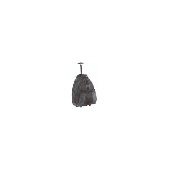 Notebook Rolling Backpack Black For 15.4in Notebook