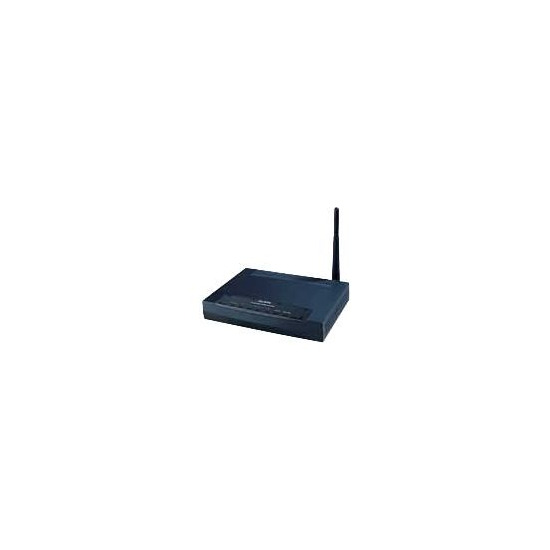 ZYXEL PRESTIGE 661HW-61 802.11G+ 125MBPS WIRELESS 4 X 10/100 ADSL 2 TUNNEL VPN ROUTER.
