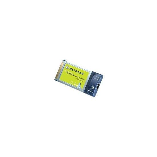 NETGEAR FA511 10/100 PC CARD CARDBUS ADAPTER (32-Bit)