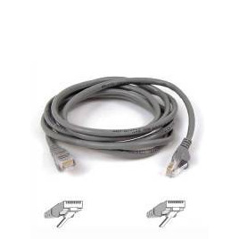 BELKIN CAT5E ASSEMBLED UTP UNBOOTED PATCH CABLE - GREY (10M) Reviews
