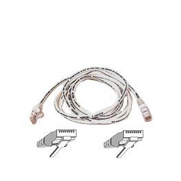 BELKIN CAT 5 UTP SNAGLESS MOULDED PATCH CABLE WHITE 10M Reviews