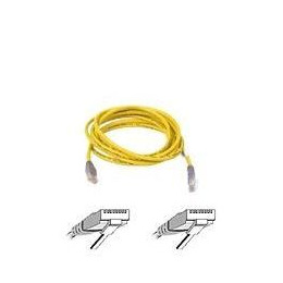 BELKIN CAT5E UTP CROSSOVER CABLE YELLOW 5M Reviews