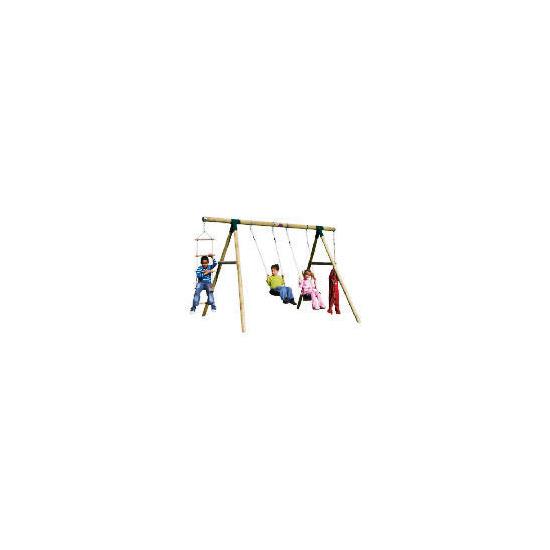 Plum Gibbon Wooden Swing Set