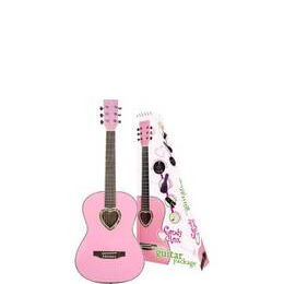 Candy Rox Pink Heart Guitar Package Reviews