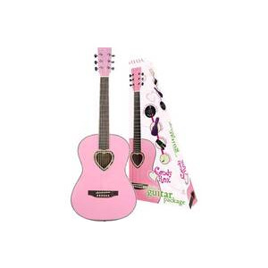 Photo of Candy Rox Pink Heart Guitar Package Musical Instrument