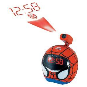 Photo of Spider-Man Projection FM Clock Radio Radio