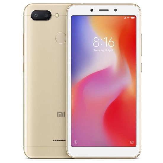 Xiaomi Redmi 6 3GB 32GB Gold