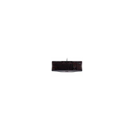 Logitech G110 Gaming Keyboard - Black