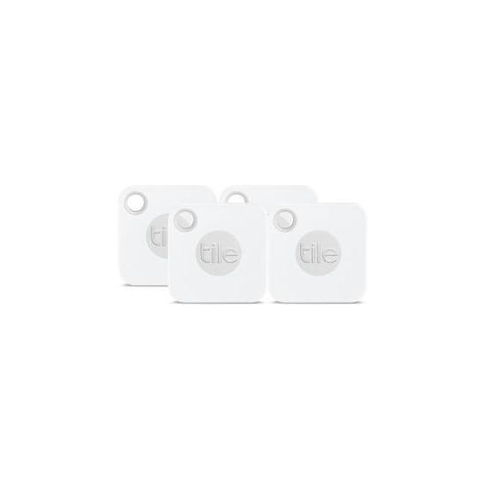 Tile Pro Bluetooth Tracker - Black & White, Pack of 4