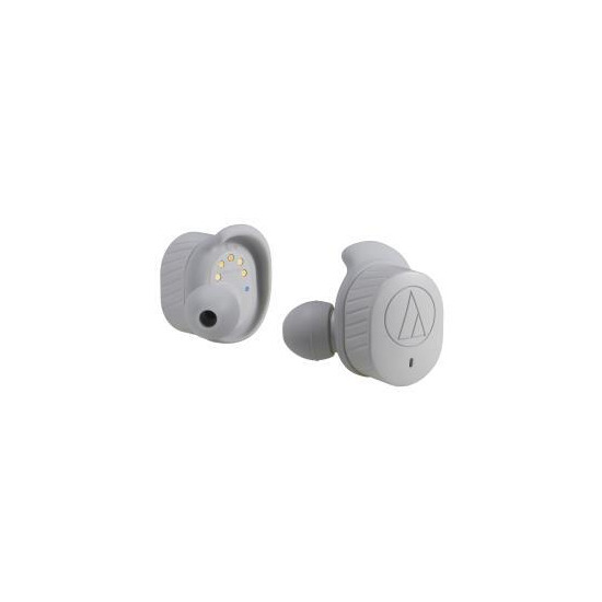 Audio Technica ATH-SPORT7TW True Wireless Sports Earbuds - Grey
