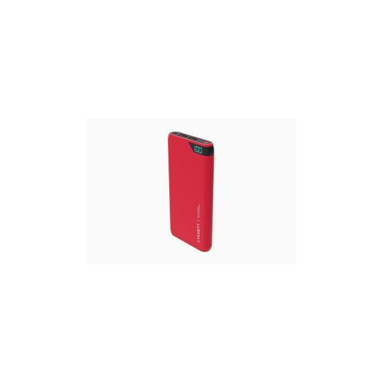 Cygnett ChargeUp Boost 10000 mAh Dual USB 2.4A Powerbank - Red