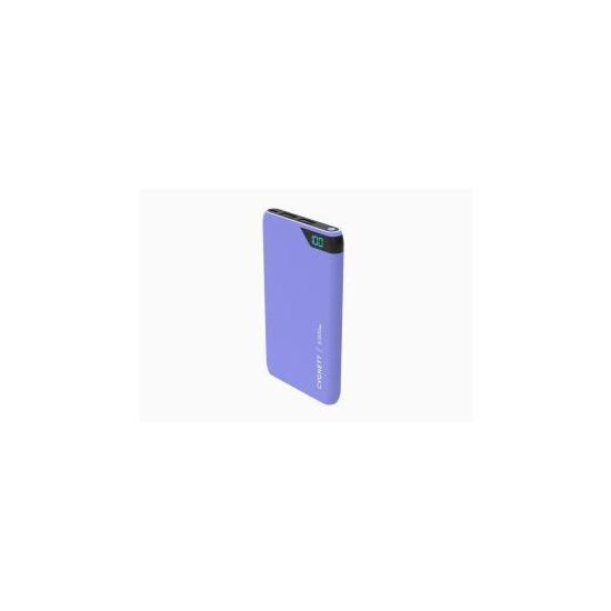 Cygnett ChargeUp Boost 5000 mAh Dual USB 2.4A Powerbank - Lilac