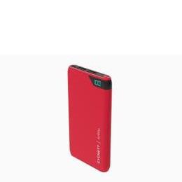 Cygnett ChargeUp Boost 5000 mAh Dual USB 2.4A Powerbank - Red