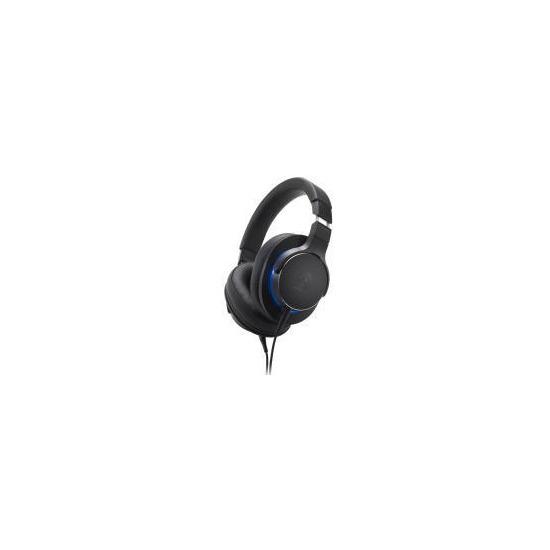 Audio Technica ATH-MSR7b Over-Ear High-Res Headphones - Black