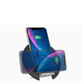 Cygnett Prime Wireless Desk Charger with Adjustable Stand - Black