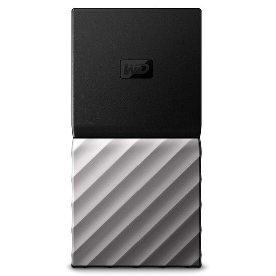 WD My Passport Portable SSD 2TB - Black/Silver