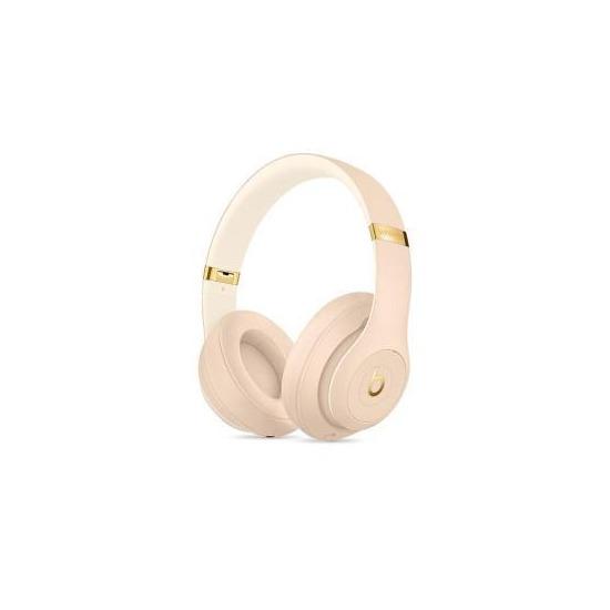 Beats Studio 3 Wireless Bluetooth Noise-Cancelling Headphones - Desert Sand