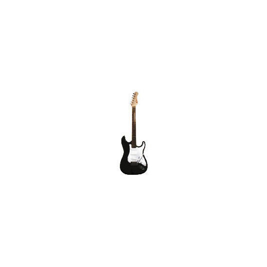 Nevada Electric Guitar Package - Diamond Black