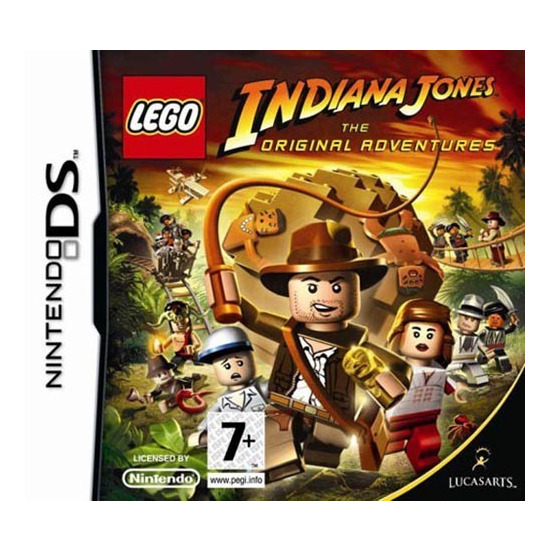Lego Indiana Jones: The Original Adventures (DS)