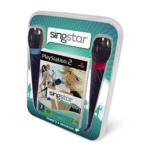 Photo of Singstar Pop Hits Microphone Bundle (PS2) Video Game