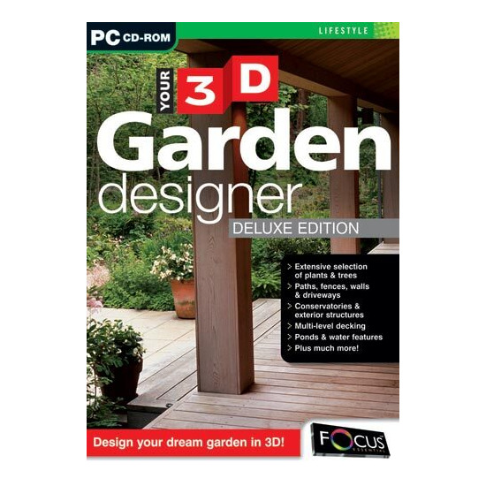 Focus Your 3D Garden Designer PC