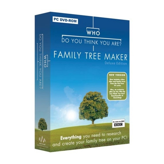 Who Do You Think You Are? - Family Tree Maker Deluxe Edition PC