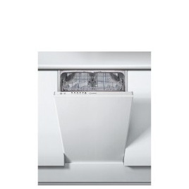 Indesit DSIE 2B10 UK Slimline Fully Integrated Dishwasher Reviews
