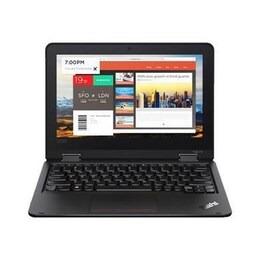 Lenovo ThinkPad Yoga 11e 20LM - Flip design - Celeron N4100 / 1.1 GHz - Win 10 Home 64-bit - 4 GB RAM - 128 GB eMMC - 11.6 IPS touchscreen 1366 x 768 HD - UHD Graphics 600 - Wi-