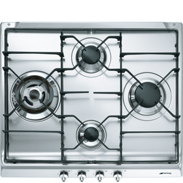 Smeg Classic SER60S3 Gas Hob - Stainless Steel Reviews