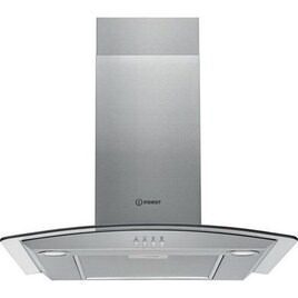 Indesit IHGC 6.5 LM X Chimney Cooker Hood - Silver Reviews