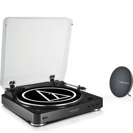Audio-Technica AT-LP60SPBT Belt Drive Bluetooth Turntable with Bluetooth Speaker - Black Reviews