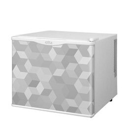 KCLRF17-2003 White 17 Litre Cooler - Cube Patter