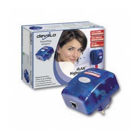 Microlink Dlan High-speed Ethernet Homeplug Adapter Uk