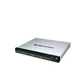 Linksys 48 Port 10/100/1000 Gigabit Switch with WebView Reviews