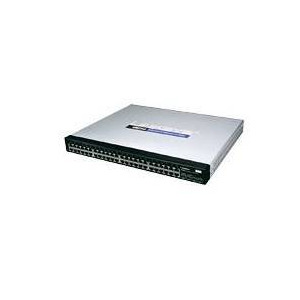Photo of Linksys 48 Port 10/100/1000 Gigabit Switch With WebView Network Switch