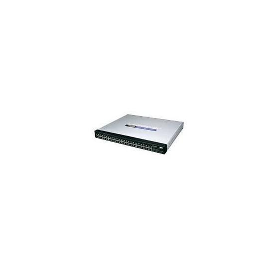 Linksys 48 Port 10/100/1000 Gigabit Switch with WebView