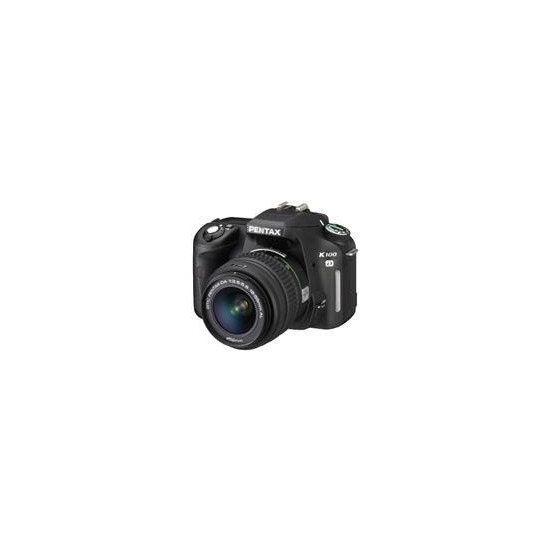 Pentax K100D with 18-55mm lens