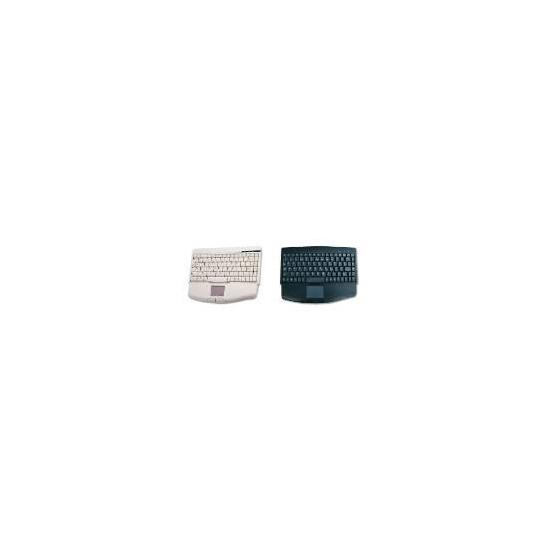 Accuratus 540 Mini Keyboard with Touch Pad Black USB