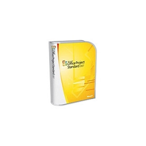 Photo of Microsoft Office Project Standard 2007 - Complete Package - 1 PC - EDU - CD - Win - English Software
